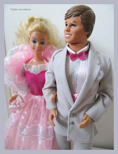 Dream Glow Barbie & Ken 1985 were my first Barbies...and I still have them in my basement!