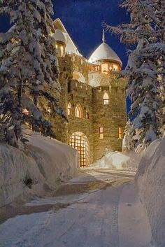 Castle Magic in Sandpoint, Idaho