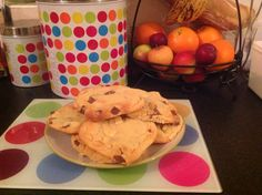 Decided to make some white and milk chocolate cookies thank you to Tanya burr for her recipe video
