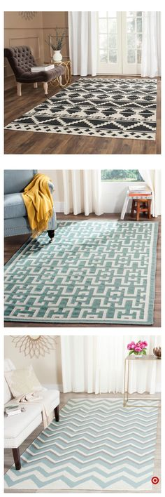 Shag rugs are back in style. You may be wondering how to clean a shag rug. Here at Kudos House, we have the answers that you are looking for in this article. Rugs In Living Room, Living Room Decor, Living Spaces, Bedroom Decor, Manta Crochet, My New Room, Interior Design Living Room, Decoration, Home Projects