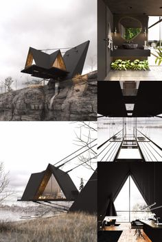 The Iranian Architect & Interior designer Milad Eshtiyaghi has evnisioned a suspended cliff house planned to be built in #Mendocino, #California, USA. #architecture #architect #amazingarchitecture #design #interiordesign #interiordesigner #decor #homedecor #home #house #luxury #diy #travel #amazing #photography #realestate #casa #arquitecto #arquitectura #decoration #cliff #cliffhouse #cabin #suspended #suspendedhouse #render #vray #3d #lumion #nature #unitedstates #3dsmax #houseplan