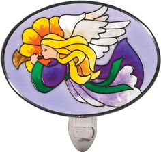 Angel Stained Glass Night Light