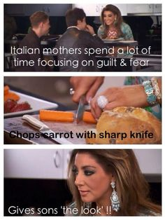 Italian mothers - Gina Liano - Real Housewives of Melbourne