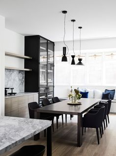 The revival of an Elsternwick residence has allowed Mim Design to create a stunning internal transformation of a historic Edwardian home.