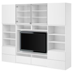 BESTÅ TV/storage combination - white - IKEA