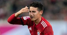James is not interested in the move to the Emirates, according to Marca Colombia. The midfielder would prefer to return to Real Madrid in the summer of Arsenal News, Arsenal Fc, James Rodriguez, Soccer Players, Cristiano Ronaldo, Munich, Real Madrid, Premier League, Finals