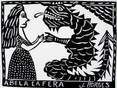 A bela e a fera J.Borges