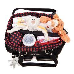 Stilvolle Wickeltasche - Lola Wickeltasche - Wickeltasche mit Stil - Baby Bundles
