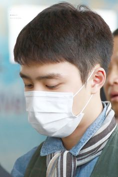 D.O - 160430 Gimpo Airport, departing for Tokyo - 1/4 Credit: Wish Boy. (김포공항 출국)