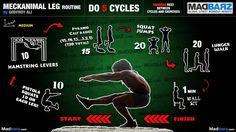 Intermediate Calisthenics Leg Workout