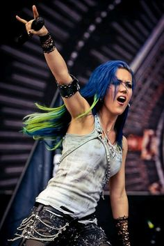 Imagen de arch enemy, alissa white-gluz, and metalgirl