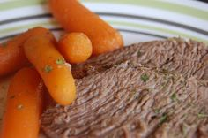 table for seven: Pot Roast {Crock Pot Version} --- A 1950's , Old Fashion And Simple Recipe ---