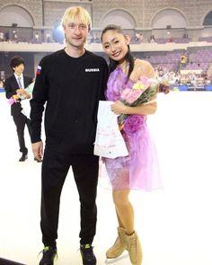 美男美女?安藤美姫とプルシェンコのツーショットオーラが凄い | フィギュアスケートまとめ零