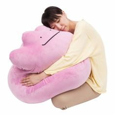 Giant Ditto Pokémon Pillow Is Easy To Catch And Squish