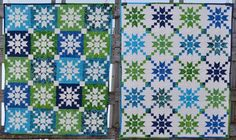 Stepping Stones twin quilts
