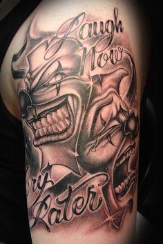 Tattooz Designs: Tattoo Designs of Clowns| Tattoo Designs Evil Clowns