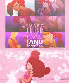 Meg is literally my favorite disney character