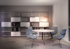 Task | Products | 		Desking | Executive | Groove Office Storage, Storage Shelves, Shelf System, Meeting Table, Extruded Aluminum, Furniture, Home Decor, Products, Storage Racks