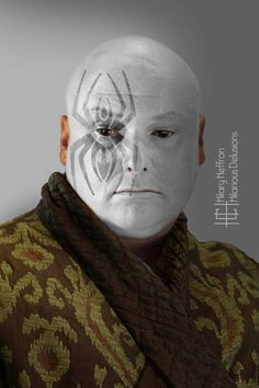 Varys  | Game of Thrones War Paint by Hilary Heffron - Hilarious Delusions