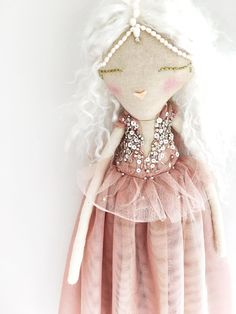 Handcrafted Heirloom cloth dolls