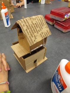 Fourth Grade artists are continuing their architecture unit of study, but this time we are working on form. Form is the element of design...
