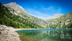 #Aussois in #RhôneAlpes, #France #travel #europe #mountain #lake
