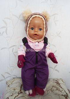 Полукомбинезон для куклы Baby Born