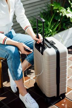 """""""The perfect carry-on bag has arrived – and it's under $250"""" - Vogue. Thoughtfully designed for the way you truly travel. Charge on-the-go. Lifetime warranty."""
