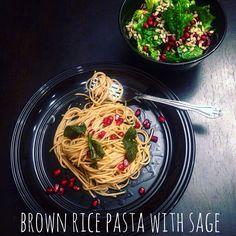 pasta love... rice pasta at its best
