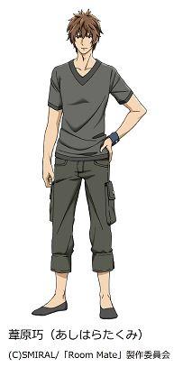 Takumi Ashihara, played by Tomoaki Maeno | TV Anime Room Mate