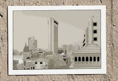 Montefiore A3 Print | Artsetters, Urban Outlines