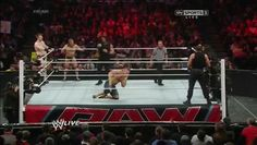 roman reigns superman punch love the way he loads it by pumping his arm like a shotgun
