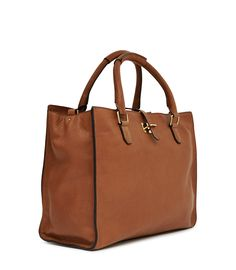MCM Shopper Project - Large Leather Tote w/ Pouch | BAGS A2Z ...