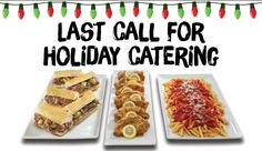 Last call for holiday catering! Place your order now before it's too late. Visit Buona.com/Catering for holiday catering hours :) #BuonaCatering #BuonaBeef