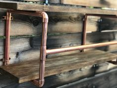 Towel Rack, Copper Bathroom Rack, Bathroom Towel Rack, Shelves, Bathroom Shelves, Copper Shelves, Steampunk, Home Decor,