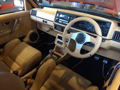 Lush Mk2 Golf interior - Ultimate Dubs 2014