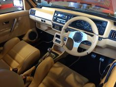 Interiors golf and photos on pinterest for Interior golf mk2