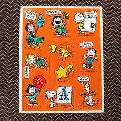 Say it like you mean it with Peanuts Stickers! Snoopy, Charlie Brown and the Peanuts gang know how to give three cheers for good work. Start the hurrays in our shop at CollectPeanuts.com.