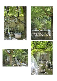 """House of the designer of Vox Populi Pascale Palun in Avignon, """"La récup' chic,"""" 16 pictures available on request for book and Vox Populi, Jpg, Luster, Garden, Pictures, House, Dreams, Design, French Countryside"""