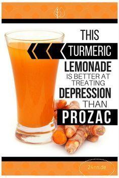 Turmeric Lemonade That Treats Depression Better Than Prozac