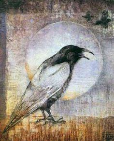 """""""Crow"""" par Susan Seddon Boulet"""