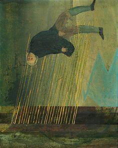 有元利夫 暁 Toshio Arimoto Japanese Art Modern, Japanese Artists, Modern Art, Contemporary Art, Art And Illustration, Figure Painting, Painting & Drawing, Figurative Kunst, 2d Art