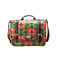 Fossil® Floral Key-Per Messenger Bag at www.bostonstore.com