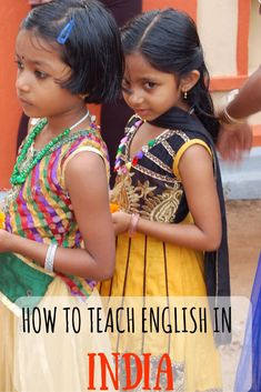 How to teach english in India