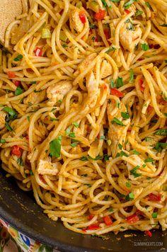 Slimming World Chicken Recipes, Slimming World Recipes Syn Free, Dog Recipes, Cooking Recipes, Mince Recipes, Low Calorie Pasta, Bang Bang Chicken, Creamy Pasta Dishes, Slimming Eats