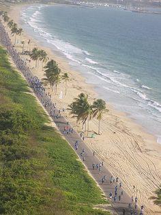 Caracola beach in Margarita Island, Venezuela