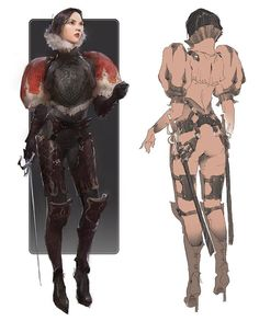 art conceitual bound by symmetry Female Character Design, Character Design References, Character Concept, Character Art, Concept Art, Character Maker, Character Poses, Female Knight, Female Armor