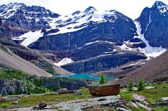 Five Canadian adventure ideas for you. This photo: Gorgeous Lake O'Hara scenery