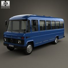 Mercedes-Benz O-309 1979 3d model from humster3d.com. Price: $75