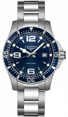 NEW LONGINES SPORT COLLECTION HYDROCONQUEST MENS WATCH L3.640.4.96.6